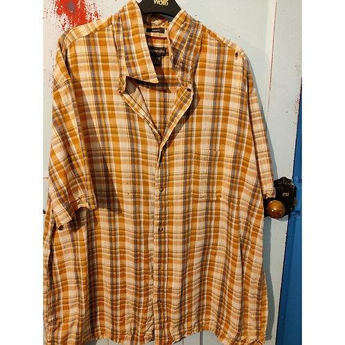 Vintage Check Shirt Men's XXl FREE