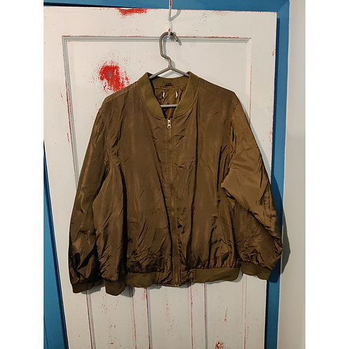 Olive Green Flight Jacket size ?