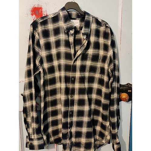 Vintage Check Shirt Men's Size M