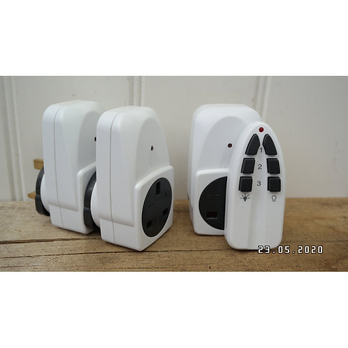 Eco Friendly Remote Controlled Plugs