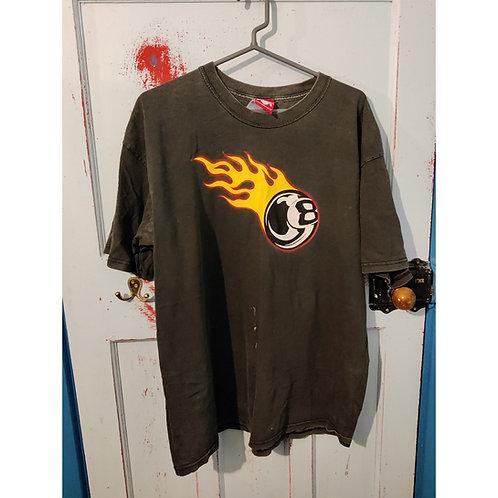 Toxico Eight Ball T Shirt XL