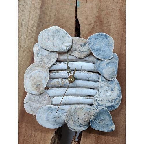 Norfolk Sea Shell Clock - Quartz time piece