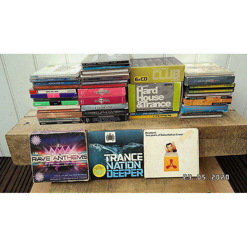 Trance CD's mixed bunch