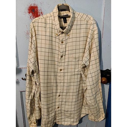 Vintage Check Shirt Men's Size XL