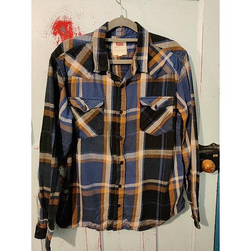 Vintage LEVIS Check Shirt Men's  L