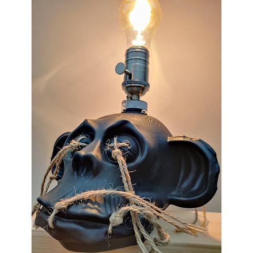 Ornamental Monkey Skull Light