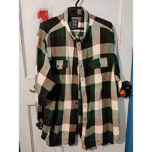 Vintage Check Shirt Men's Size 2XL
