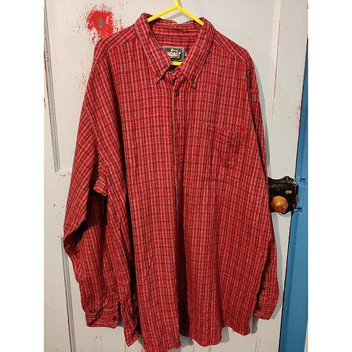 Vintage Check Shirt Men's Size XxL