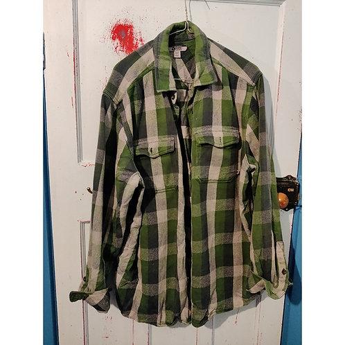 Vintage Check Shirt Men's Size 2XLT
