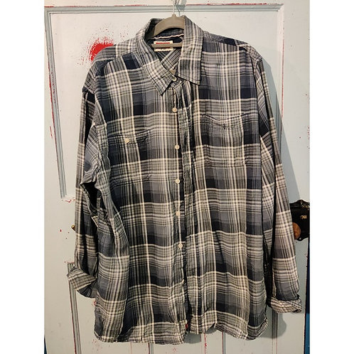 Vintage Check Shirt Men's S