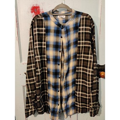 Vintage Check Shirt Men's Size L