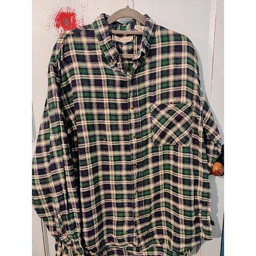 Vintage Check Shirt Men's Large