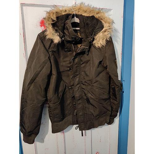 Pull and Bear hooded jacket Medium