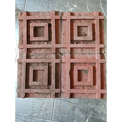 Terracotta tiles -  very unusual a total of 50