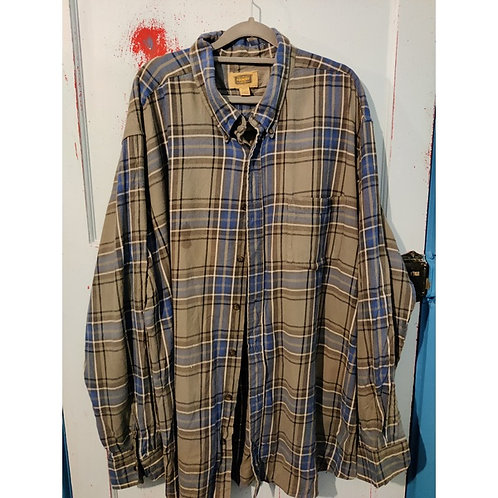 Vintage Check Shirt Men's 3XL