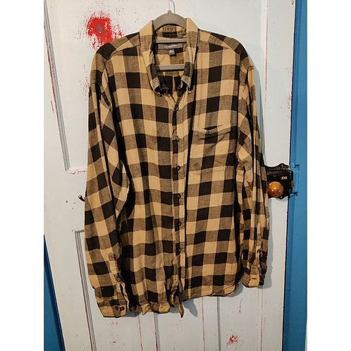 Vintage Check Shirt Men's XL