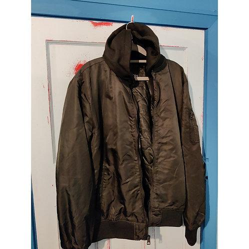 Guess Hooded Flight Jacket XL