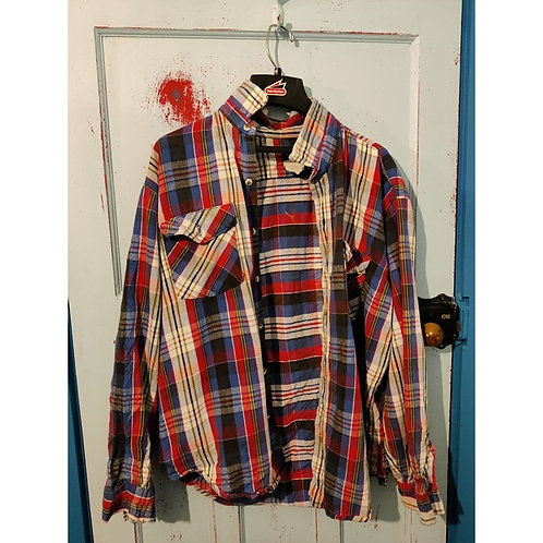 Vintage Check Shirt Men's MAYBE A LARGE?