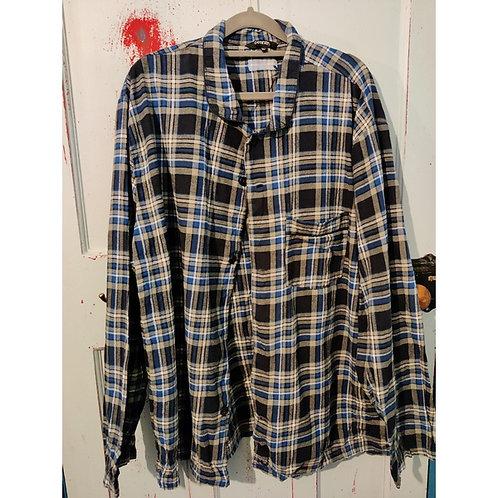 Vintage Check Shirt Men's XXL