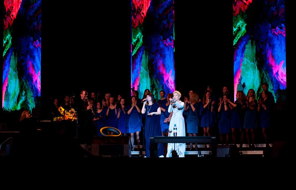 Ирина Богушевская и Sunny Side Singers