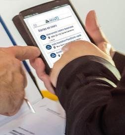 Nouveauté: une application d'alerte aux citoyens signée StraTJ