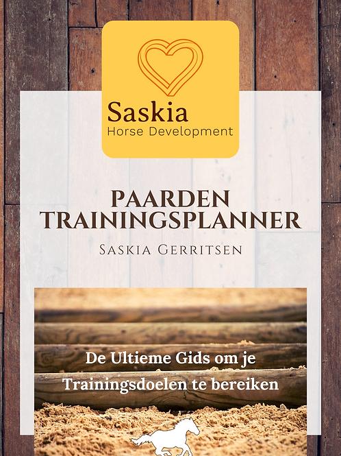 Paarden Trainingsplanner door Saskia Gerritsen
