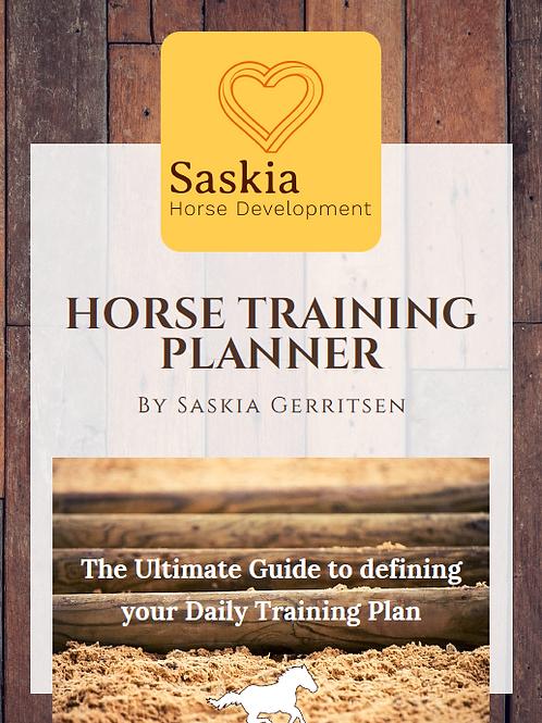 Horse Training Planner by Saskia Gerritsen