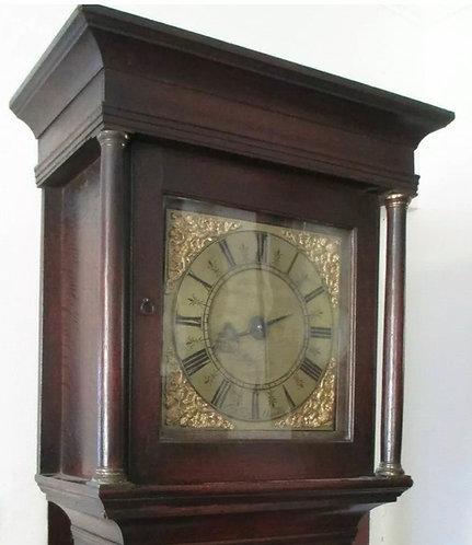 WILLIAM NICKOLLS (NICHOLLS) OUNDLE NORTHAMPTONSHIRE EARLY LONGCASED CLOCK