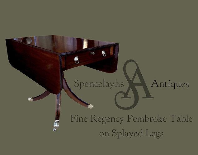 Regency Pembroke Table
