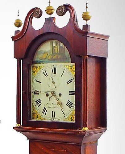 John Tomlinson of Horncastle Eight Day Longcase Clock