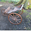 Thumbnail: Mid 18th Century handpainted wooden child's cart