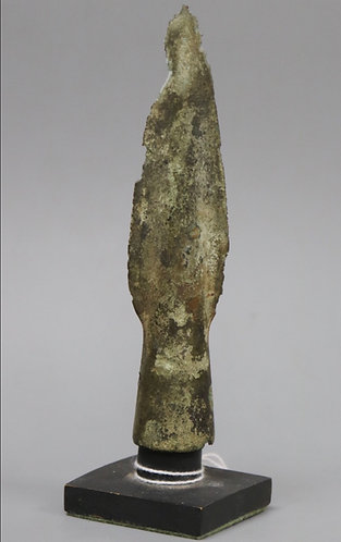Bronzeage spearhead, excavated as part of the Wilburton Hoard c.1000 B.C.