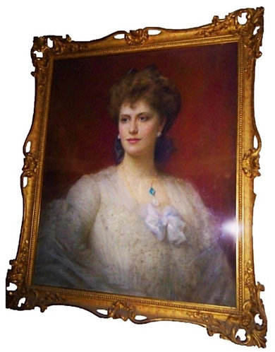 The Hon. Mrs Alice Keppel by Ellis Roberts intrest to H.R.H THE PRINCE OF WALES