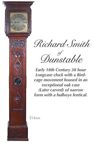 Richard Smith 30 hour single hand Narrow cased Longcase clock