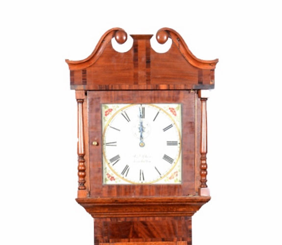 Early Victorian Joshua Claire of Kimbolton Longcase Clock