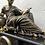 Thumbnail: Fine Charpentier & Dewint Marble & Bronze Mantel Clock