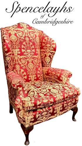 Fine Wing-Back chair in the Georgian style