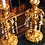 Thumbnail: Fine pair of 19th Century Ormolu Candlestick Lustres