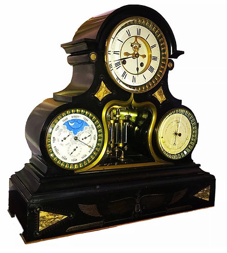 Superb Perpetual Calendar Clock with Bissextile Leap Year