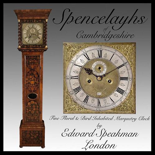 Walnut Floral Bird inhabited Marquetry Longcase Clock - Edward Speakman