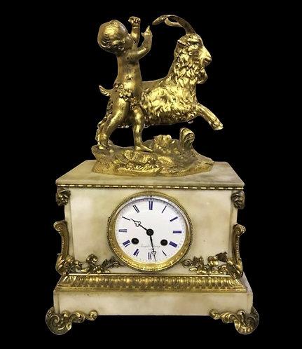 19th century Mantel Clock by Joseph Silvany - Paris