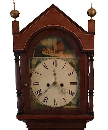 Small Proportioned Longcase Clock by Samuel Lellyet of petersfield