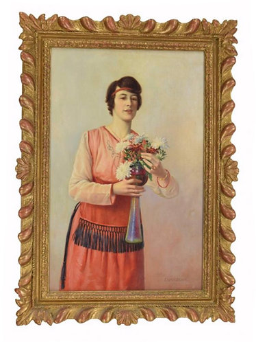 Charles Spencelayh 'Her Favourite Bloom'