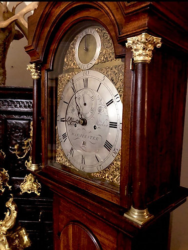 William Markes of Warminster George III 8 Day Longcase Clock