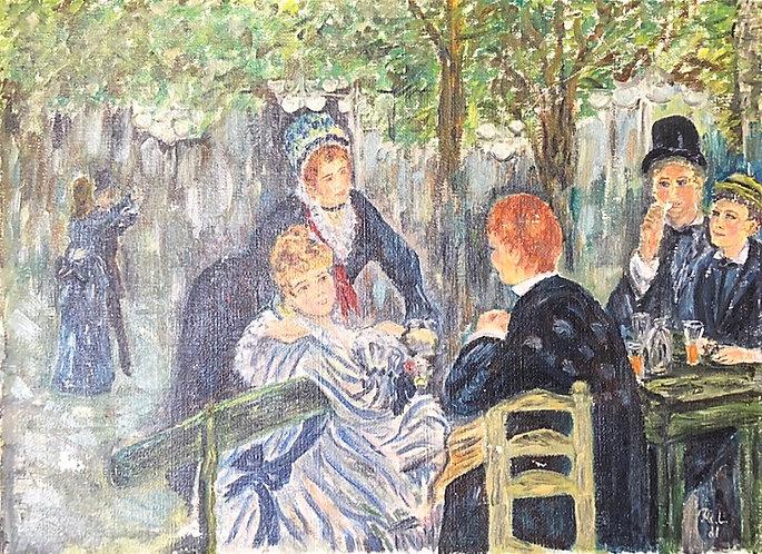 after Pierre Auguste Renoir Bal du moulin de la Galette