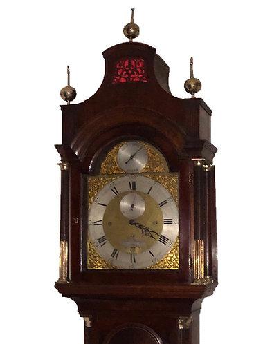 Thomas Wagstaffe of London Longcase Clock on Eight Bells