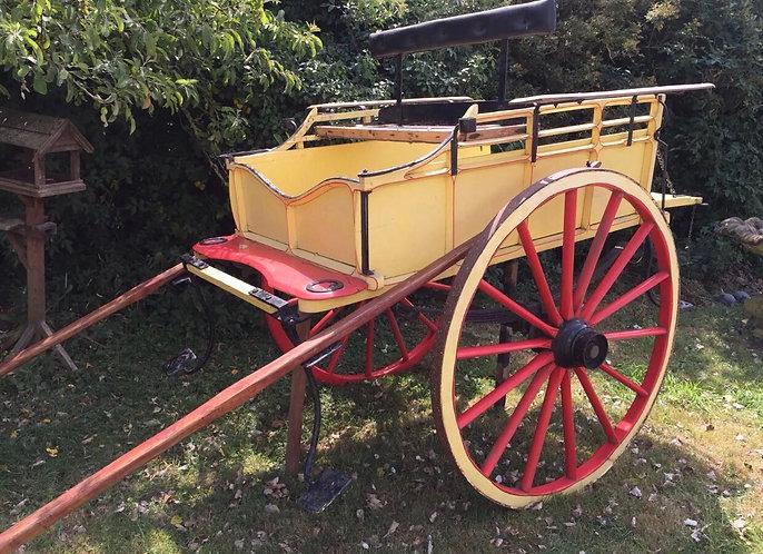 Victorian Milk Cart