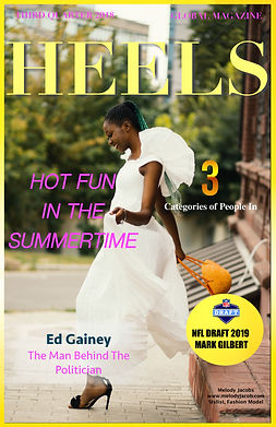 Heels Magazine third quarter 2018 cover.