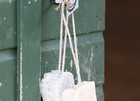 Coconut Oil Soap on a Rope (Unscented)