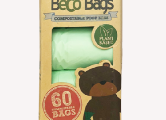 60 Home Compostable Dog Poop Bags